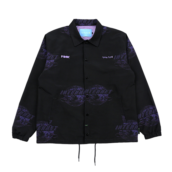 [아조바이아조 :AJOBYAJO FINK] InteInternet Coach Jacket [Black]