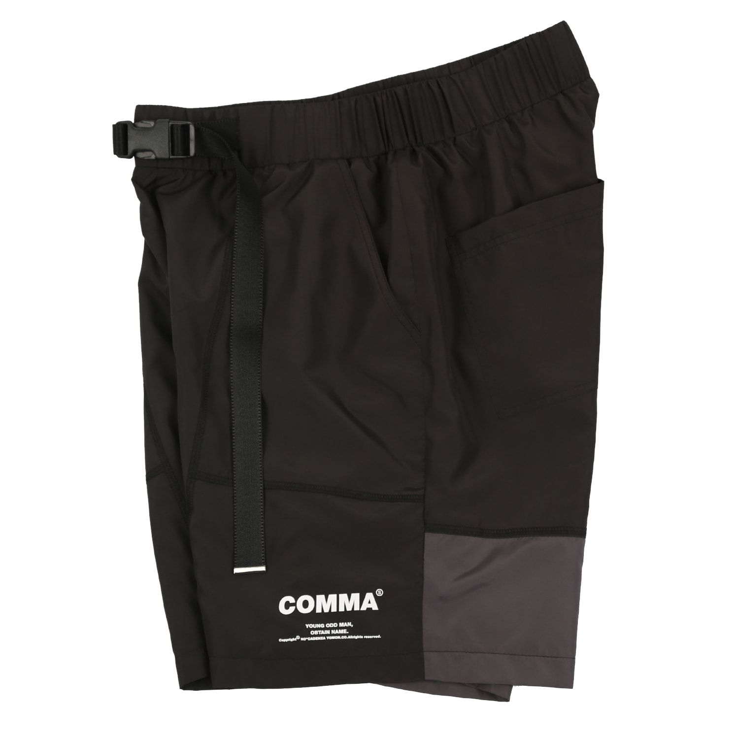 [요몬:YOMON] COMMA 1/2 PANTS