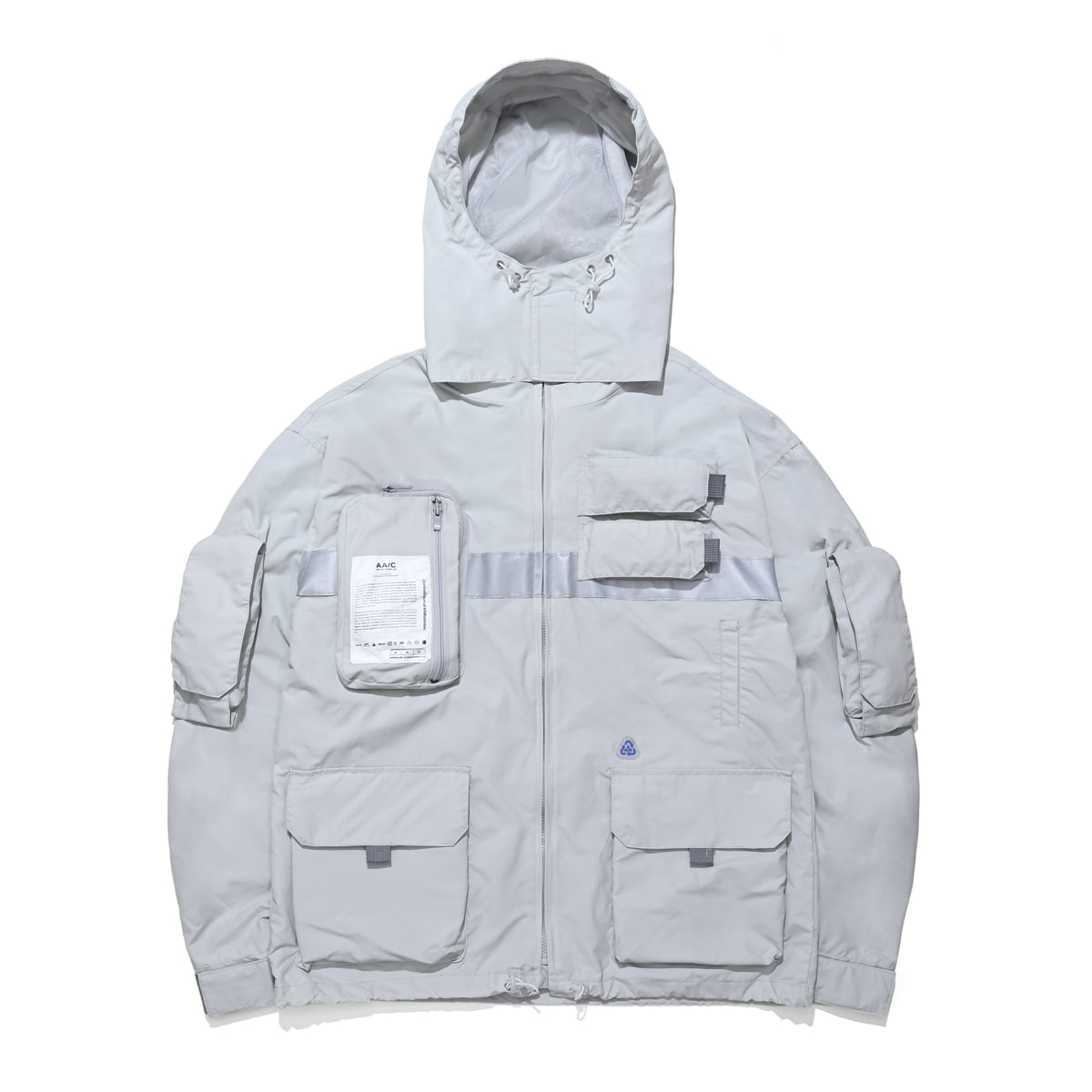 [더블에이씨:AAC] 9 Pocket Smock Jacket (gray)