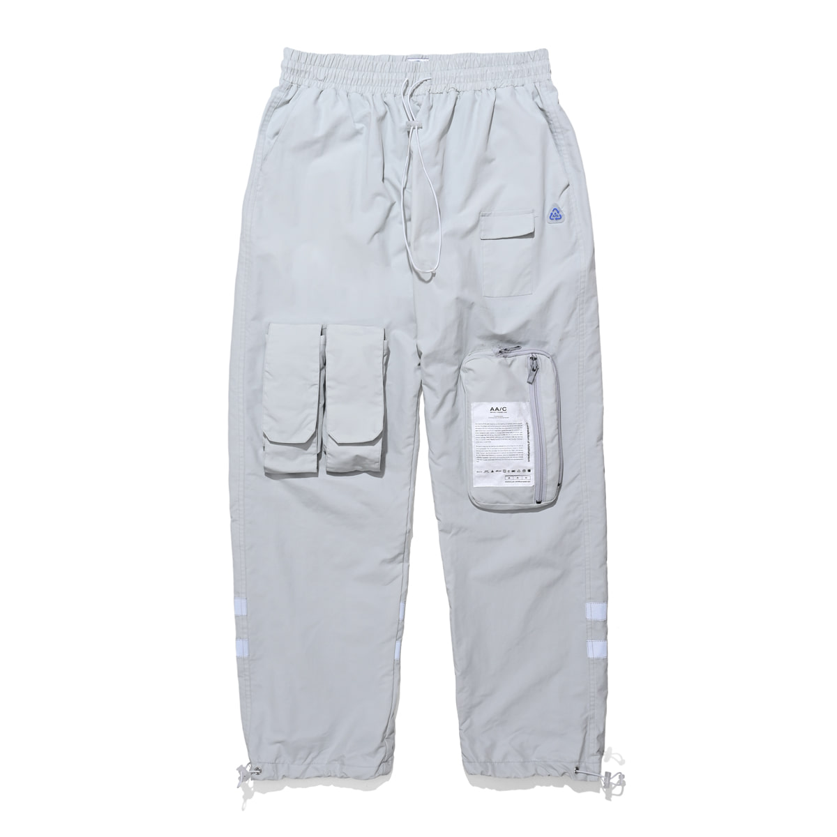 [더블에이씨:AAC] 8 pocket smock pants (gray)