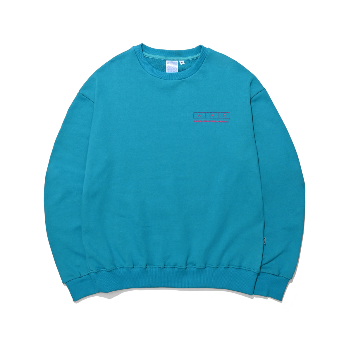 [더블에이씨:AAC] 258157 CREWNECK (aqual)