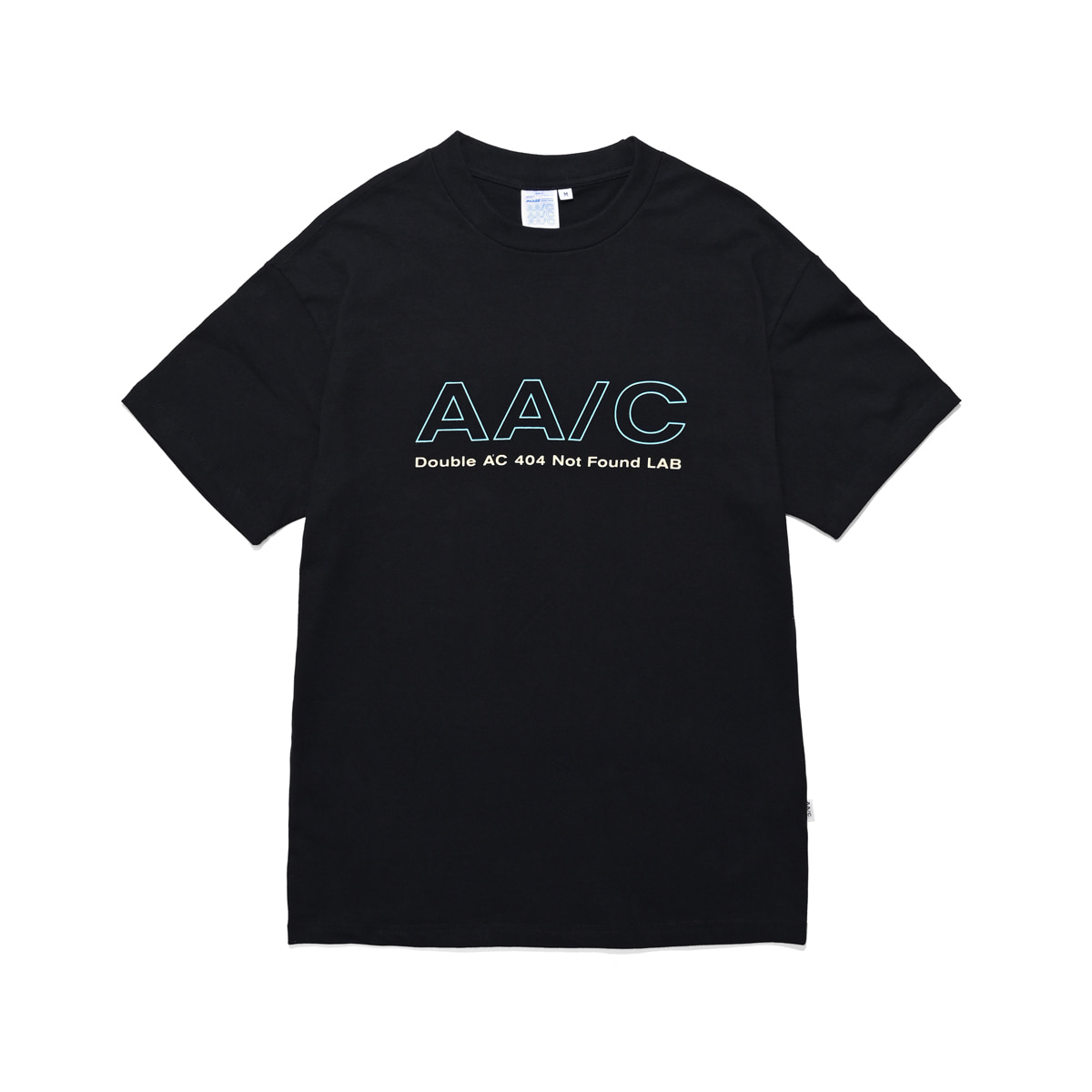 [더블에이씨:AAC] 3M SMOCK TEE-SHIRTS (black)