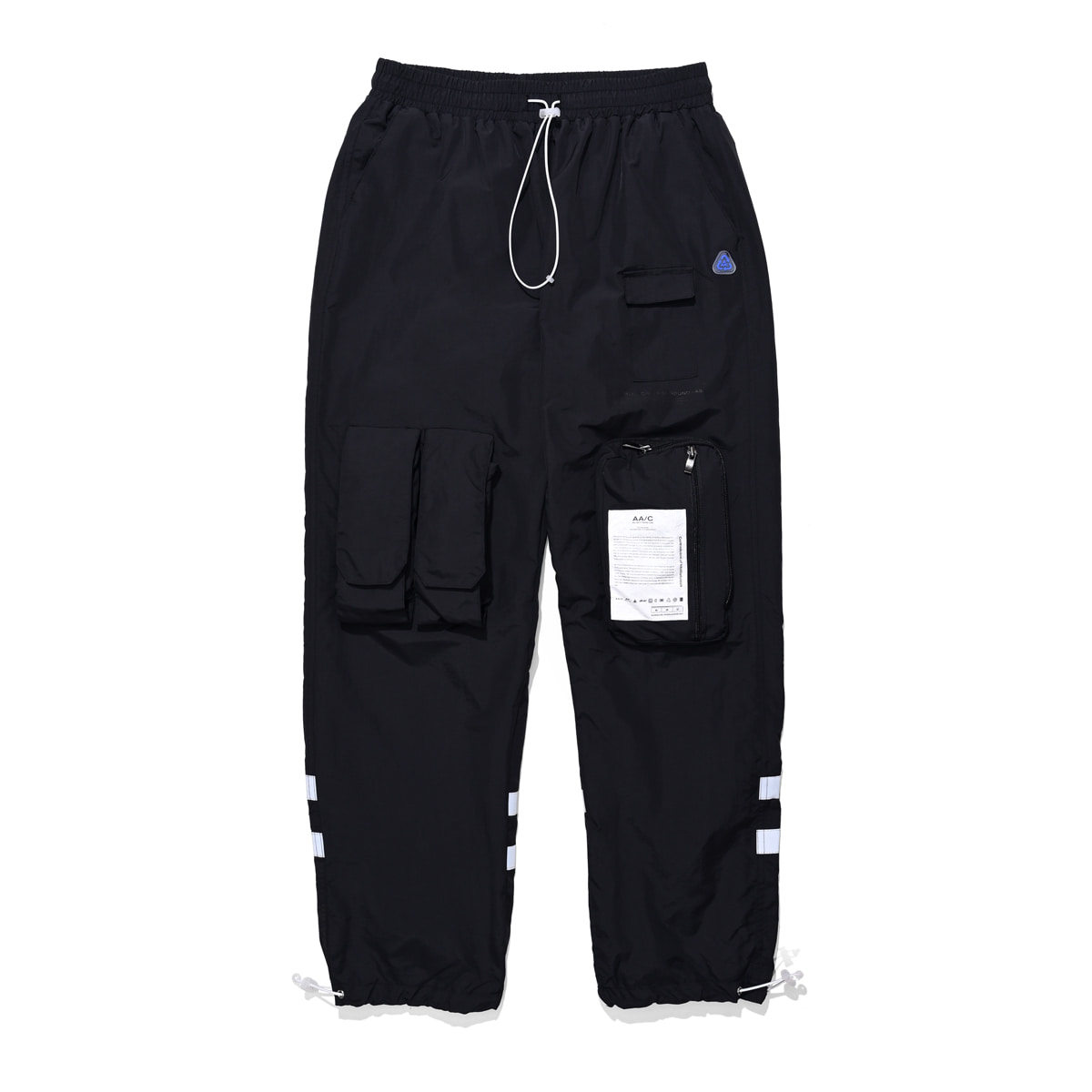 [더블에이씨:AAC] 8 pocket smock pants (black)