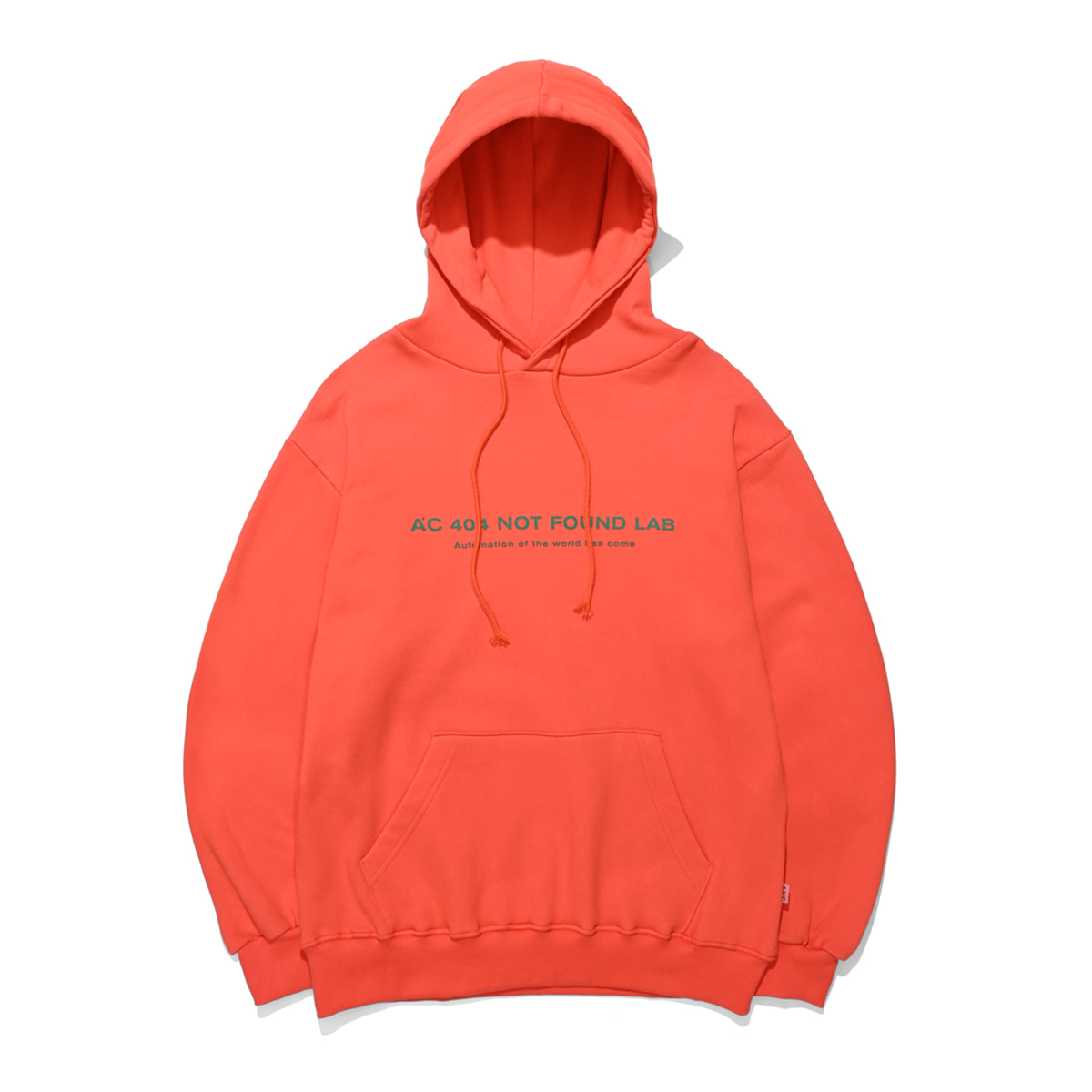 [더블에이씨:AAC] 404 NOT FOUND HOODIE (orange)