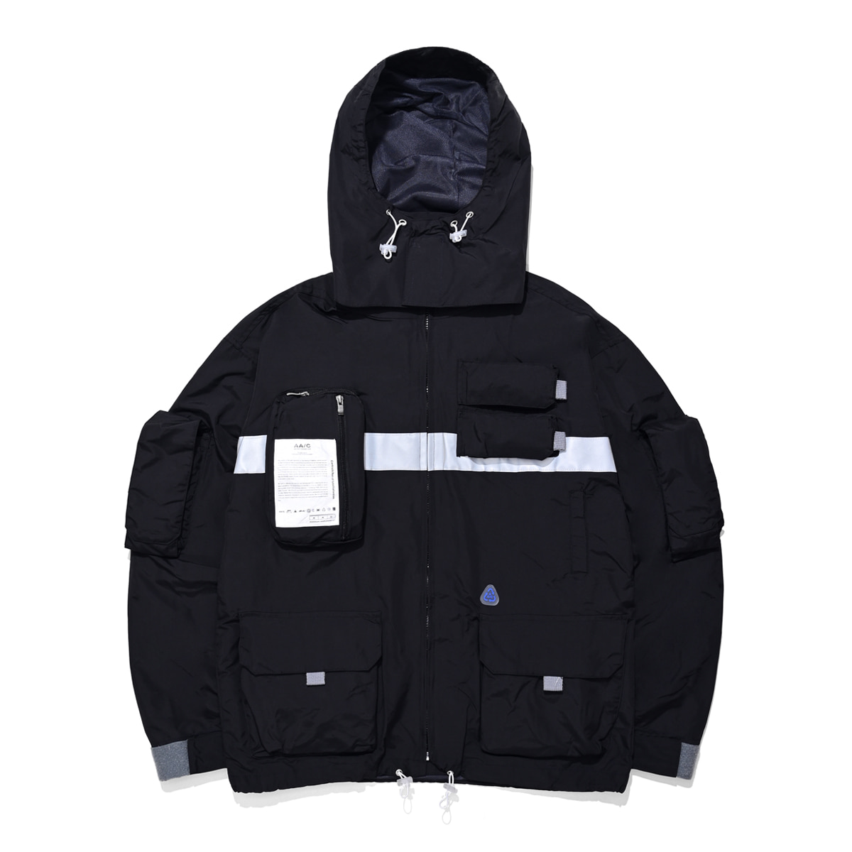 [더블에이씨:AAC] 9 Pocket Smock Jacket (black)