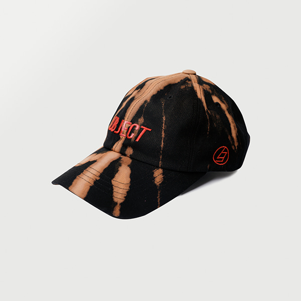 [오브젝트:OBJECT] BLEACH OBJECT LOGO CAP_BLACK_RED
