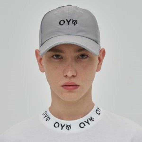 [오와이:OY] REFLECTIVE PIPING CAP - GRAY