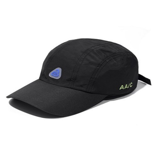 [더블에이씨:AAC] AA/C Nylon 5-Panel Cap (black)