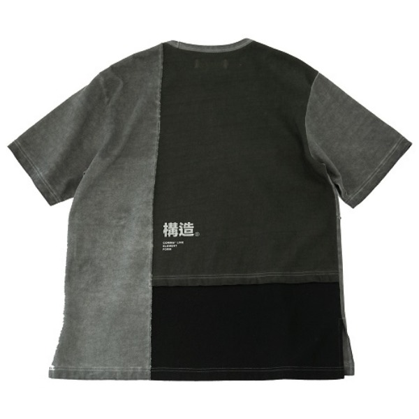 [요몬:YOMON] STRUCTURE-T(Washed GREY)
